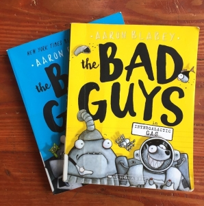The Bad Guys Books by Aaraon Blabey Intergalactic Gas and Attack of the Zittens
