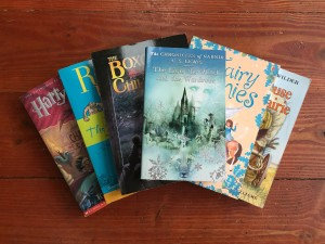 Best chapter books for older kids reading series young readers Narnia Boxcar Children Roald Dahl Fairy Ponies Little House on the Prairie Harry Potter