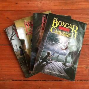 Boxcar Children books first four by Gertrude Chandler Warner