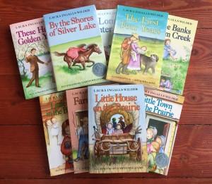 Little House on the Prairie nine book series by Laura Ingalls Wilder