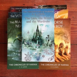 The Chronicles of Narnia seven book series for young readers children kids books by C.S. Lewis