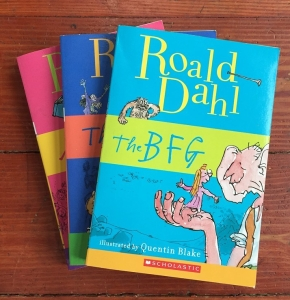 Roald Dahl books stories for kids The BFG The Witches Matilda