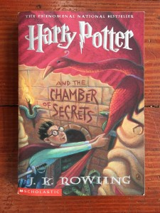 Harry Potter and the Chamber of Secrets chapter book series for kids young readers by J. K. Rowling