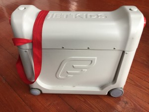 JetKids BedBox wheeled suitcase ride on for kids