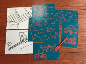 Boogie Board Play and Trace Farm Friends Accessory Activity Pack