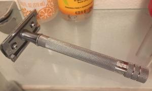 Merkur Futur 23C Double Edge Safety Razor for men shaving reusable environmentally friendly less packaging plastic waste