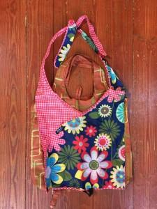 Envirosax resuable packable portable shopping bags slingsax laid on top of original bag