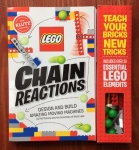 Klutz Lego Chain Reactions book building kit for kids machines STEM