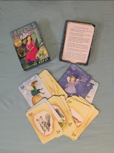 Fairy Queen card game with cards instructions and box