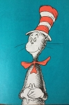 The Cat in the Hat by Dr. Seuss Theodor Giesel
