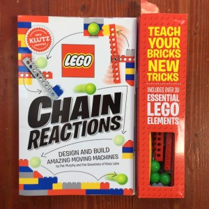 Lego Chain Reactions building set activity book