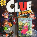Clue Junior board game for kids Fairy Queen card game for kids and Driven Pocket series little garbage truck and cement mixer on road pieces