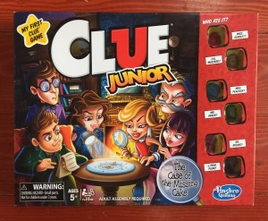 Clue Junior The Case of the Missing Cake kids board game