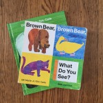 Brown Bear, Brown Bear, What Do You See? by Bill Martin Jr illustrated by Eric Carle and Panda Bear, Panda Bear, What Do You See?