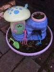 My Fairy Garden Unicorn Paradise child's gardening set kit fairy house tiny garden tools