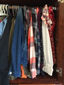 Wardrobe handing space using Higher Hangers to create more space