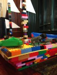 Lego pirate ship built without instructions or set by nine year old