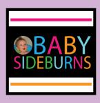 Babysideburns blog logo Karen Alpert