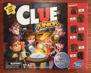 Clue Junior game for kids in box