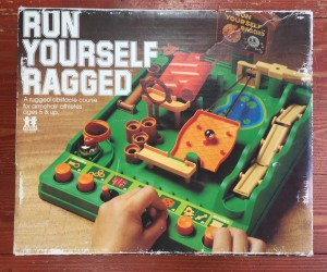 Run Yourself Ragged obstacle course game in box