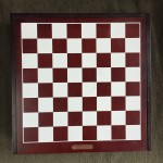 Five Games in one box top of chess checker board