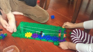 Gears! Gears! Gears! set with Lego figure ski lift homemade working moving