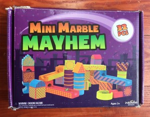 Mini Marble Mayhem box by Imagination Generation
