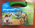Playmobil Carry Case Country Horse Grooming with packaging