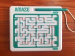 Amaze sliding puzzle game logic challenge for kids