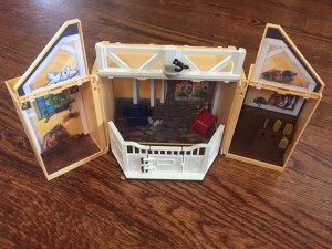 Playmobil My Secret Horse Stable Play Box shown open