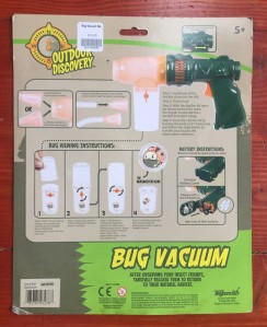 Toysmith Outdoor Discovery Bug Vacuum packaging contents