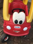 Little Tikes Classic Cozy Coupe red and yellow toddler ride in car vehicle