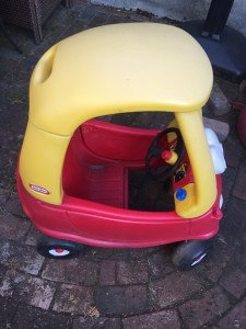 Little Tikes Cozy Coupe car side view