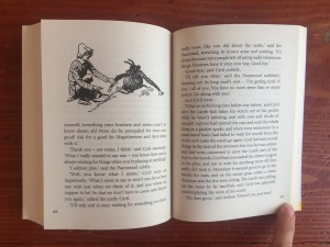 Inside chapter nine of Five Children and It book by Edith Nesbit