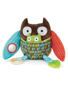 Skip Hop's Hug and Hide owl toy for infants and babies