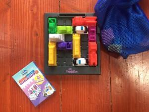 Rush Hour Jr traffic jam game challenge for kids