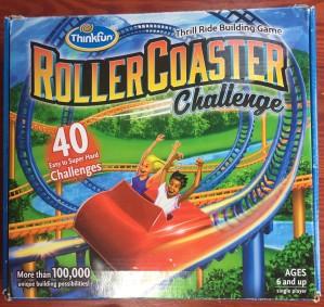 Roller Coaster Challenge logic puzzle game for kids
