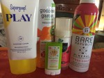Supergoop! Play Everday lotion Babyganics stick Goddess Garden Kids reef safe spray sunscreen Bare Republic mineral spray sunscreen All Good kids and baby sunscreen butter stick in group