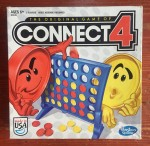 Connect 4 box kids strategy game