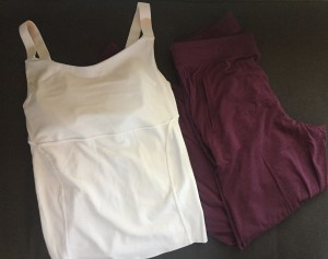 Rally tank plus lounge pants from Universal Standard