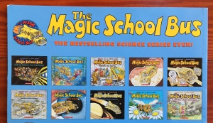 The Magic School Bus bestselling science series for kids book covers