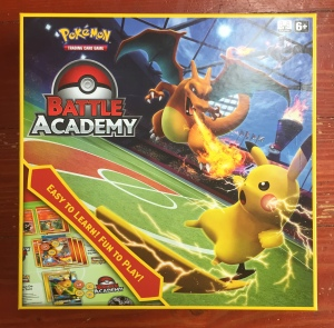 Pokemon Battle Academy box learning card game