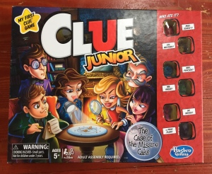 Clue Junion board game mystery solving game for kids