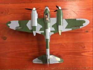 COBI Historical Collection De Havilland building brick set toy assembled