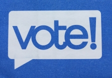 Vote logo on official ballot
