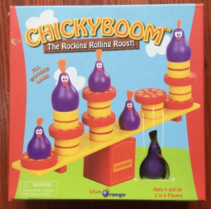 ChickyBoom balancing game for young kids in box