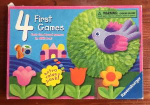 Ravensburger Four First Games box