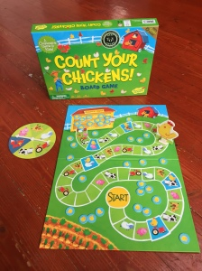 Count Your Chickens cooperative board game for young kids toddlers preschoolers by Peaceable Kingdom