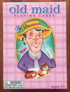 Old Maid card game in box from eeboo