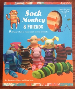Sock monkey and friends arts and craft sewing kit